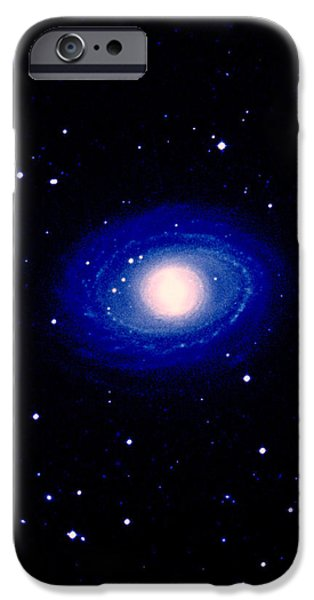 Galaxy Ngc 1398 iPhone Case by Celestial Image Co.