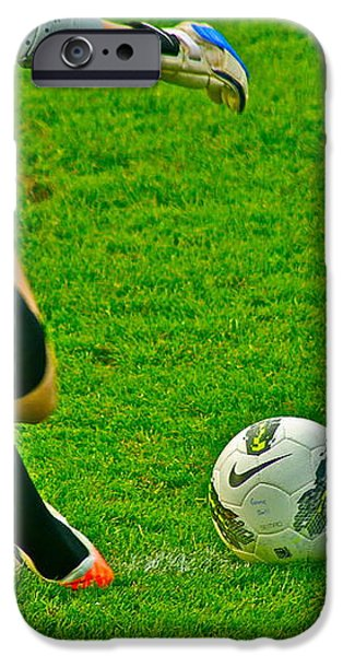 Game Ball iPhone Case by Laddie Halupa