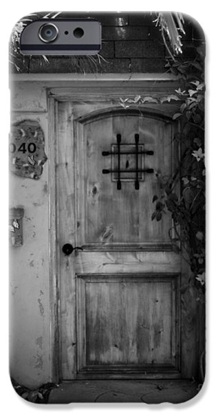 Garden Doorway 2 iPhone Case by Perry Webster