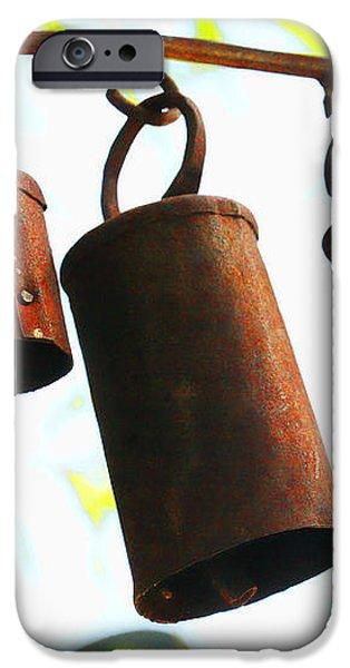 Garden Noah Bells 2 iPhone Case by Cheryl Young