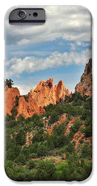 Garden of the Gods - Colorado Springs CO iPhone Case by Christine Till
