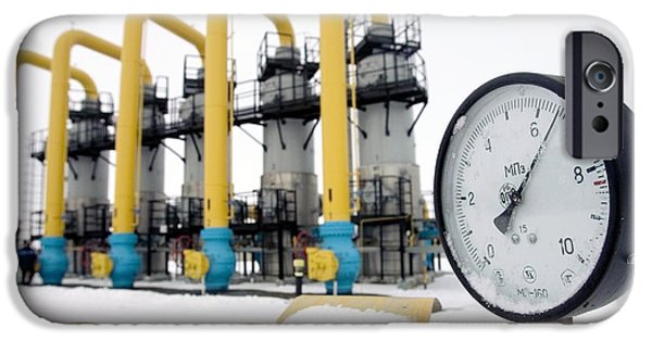 Compressor iPhone Cases - Gas Compressor Station In Belarus iPhone Case by Ria Novosti