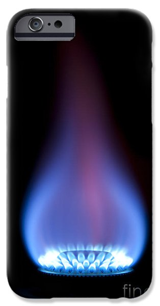 Gas Flame iPhone Case by Andy Smy