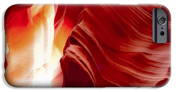 Recently Sold -  - Red Rock iPhone Cases - Gasping to Get Out iPhone Case by Don Mennig