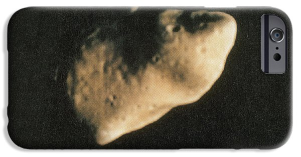 Luminous Body iPhone Cases - Gaspra, S-type Asteroid, 1991 iPhone Case by Science Source