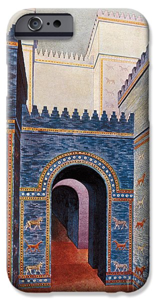 Gate Of Ishtar, Babylonia iPhone Case by Photo Researchers