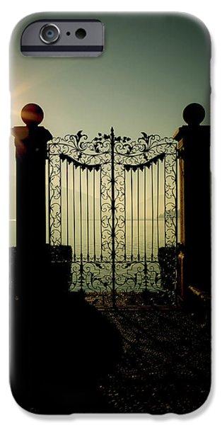 gateway to the lake iPhone Case by Joana Kruse