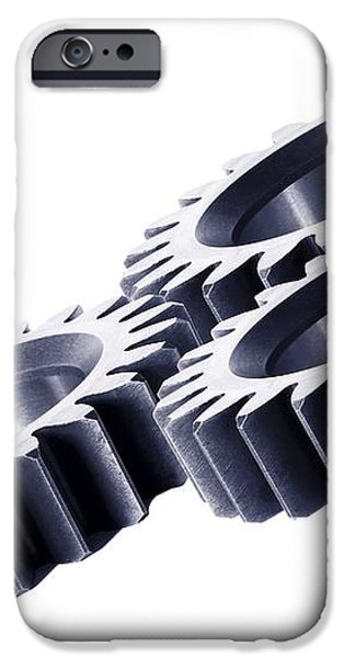 Gears, Artwork iPhone Case by Gombert, Sigrid