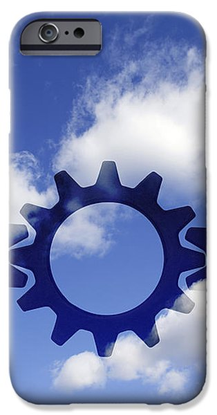 Gears concept iPhone Case by Tony Cordoza