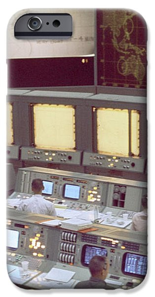 Gemini Mission Control iPhone Case by Nasa/Science Source