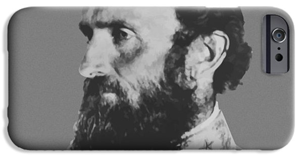 America Photographs iPhone Cases - General Stonewall Jackson iPhone Case by War Is Hell Store