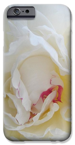 Gently Unfolding iPhone Case by Shirley Sirois
