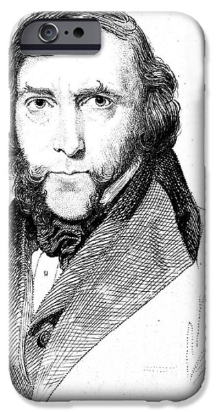 GEORGE CRUIKSHANK (1792-1878) iPhone Case by Granger