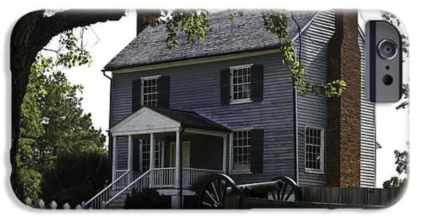 1850s iPhone Cases - George Peers House Appomattox Virginia iPhone Case by Teresa Mucha