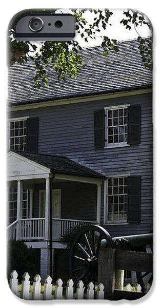 George Peers House Appomattox Virginia iPhone Case by Teresa Mucha