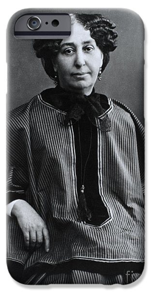 Baroness iPhone Cases - George Sand, French Author And Feminist iPhone Case by Photo Researchers, Inc.