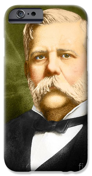 George Westinghouse iPhone Case by Photo Researchers