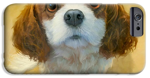 Animal Portraits iPhone Cases - Georgia iPhone Case by Sean ODaniels