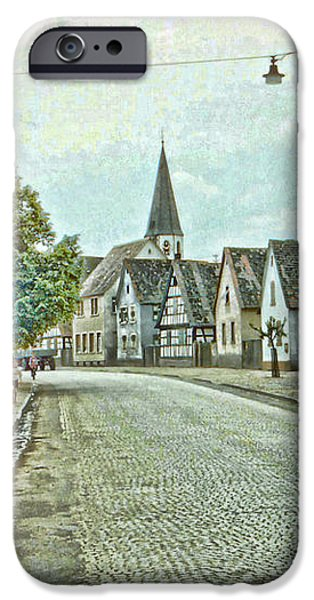 German Village iPhone Case by Chuck Staley