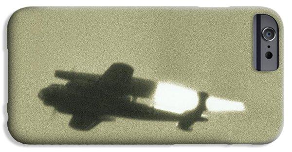 Sanger iPhone Cases - German Wwii Ramjet Bomber In Flight iPhone Case by Detlev Van Ravenswaay