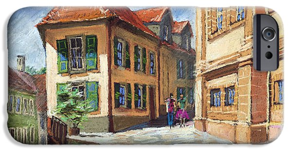 Buildings iPhone Cases - Germany Baden-Baden 04 iPhone Case by Yuriy  Shevchuk