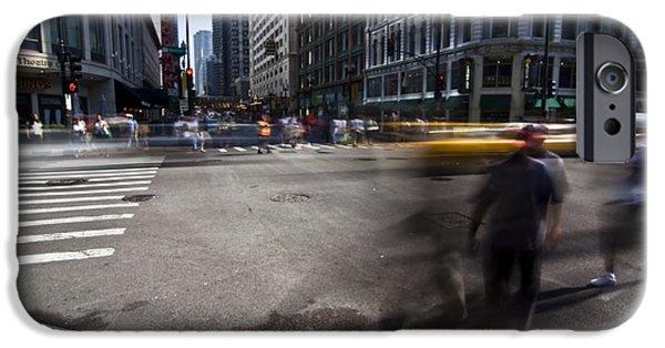 Crosswalk iPhone Cases - Getting Somewhere iPhone Case by Sven Brogren