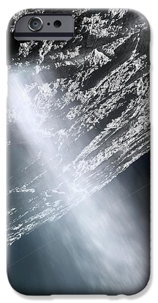 Geysers Of Enceladus Showing iPhone Case by Brian Christensen