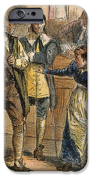 GILES COREY, 1692 iPhone Case by Granger
