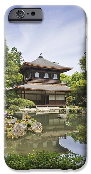Ginkakuji Temple iPhone Case by ROB TILLEY