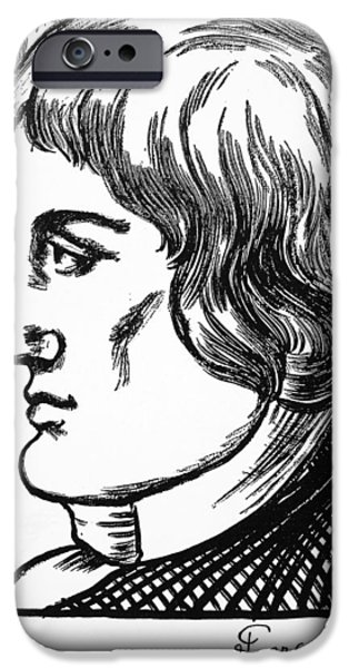 Autographed iPhone Cases - Giovanni Battista Pergolesi iPhone Case by Granger