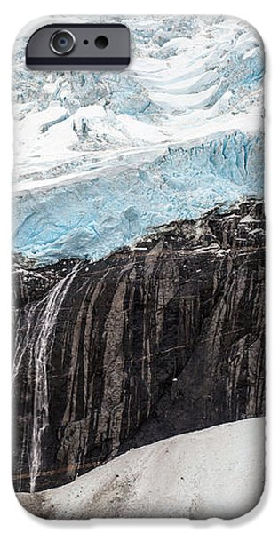 Glacial Edge Waterfall iPhone Case by Mike Reid