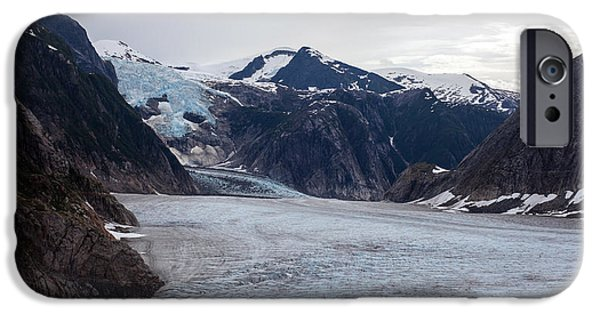 Norway iPhone Cases - Glacial Field iPhone Case by Mike Reid