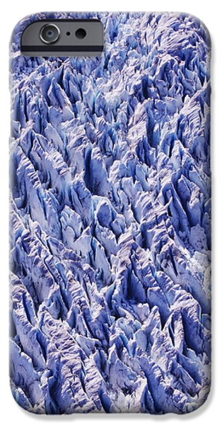 Abstract Forms iPhone Cases - Glacier Patterns iPhone Case by John Hyde - Printscapes