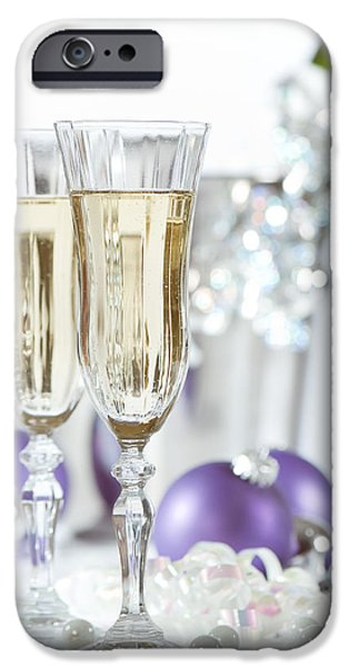 Glasses Of Champagne iPhone Case by Amanda And Christopher Elwell