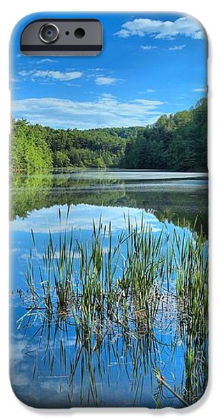 Glassy Waters iPhone Case by Adam Jewell