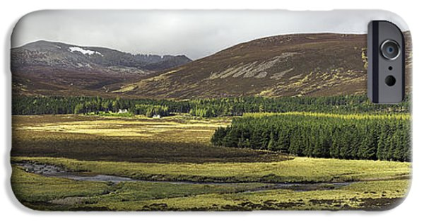 July iPhone Cases - Glen Muick, Scotland, Uk iPhone Case by Duncan Shaw