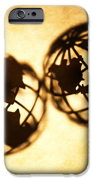 Globe 2 iPhone Case by Tony Cordoza