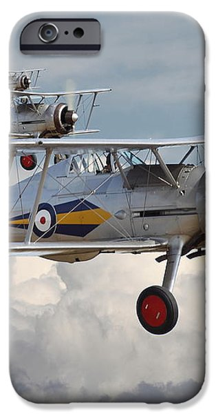 Gloster Gladiator iPhone Case by Pat Speirs