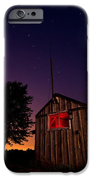 Glowing Shed iPhone Case by Cale Best