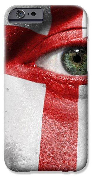 Go England iPhone Case by Semmick Photo