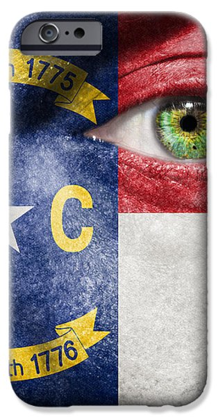 Go North Carolina iPhone Case by Semmick Photo