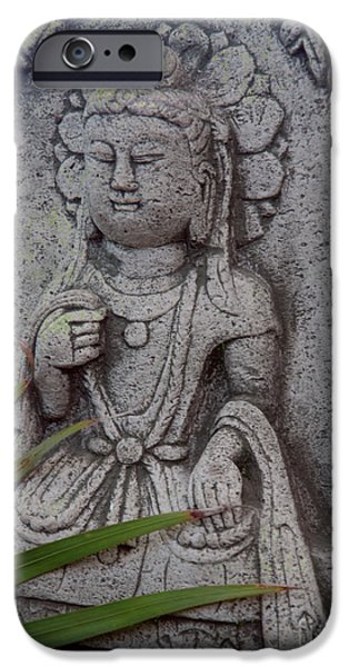Hindu Goddess Photographs iPhone Cases - God Shiva iPhone Case by Susanne Van Hulst