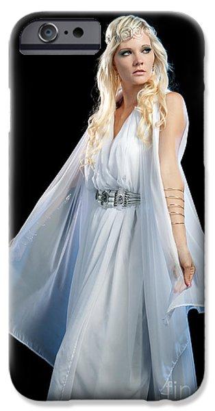 Goddess iPhone Case by Cindy Singleton
