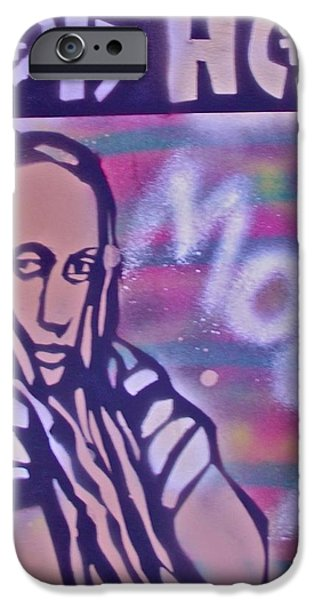 First Lady iPhone Cases - Goddess Hop iPhone Case by Tony B Conscious