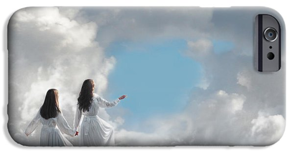 Daydreams Art Photographs iPhone Cases - Going Home iPhone Case by Cindy Singleton