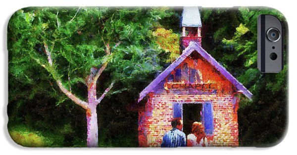 Going To The Chapel iPhone Case by Jai Johnson
