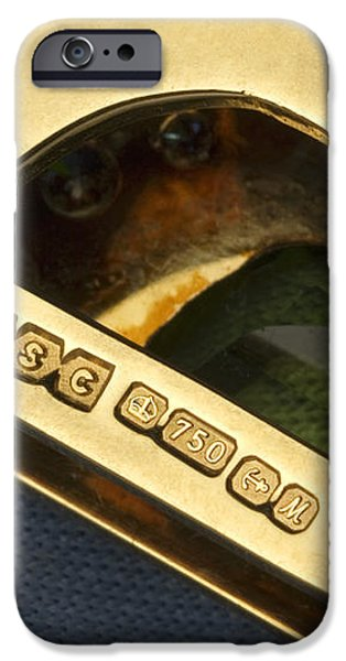 Gold Hallmarks, 1986 iPhone Case by Sheila Terry