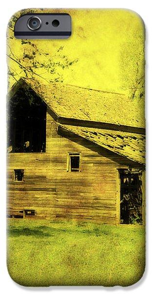 Golden Barn iPhone Case by Julie Hamilton