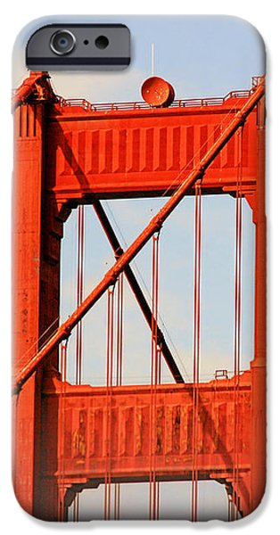 Golden Gate Bridge - Nothing equals its majesty iPhone Case by Christine Till