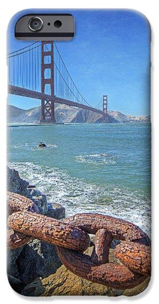 Golden Gate Bridge iPhone Case by Everet Regal